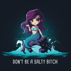 Salty Beach T-Shirt | TeeTurtle