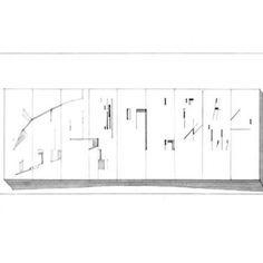Project: precious wall - Spyros Kakavas,Eleni Klonizaki,Architects πολύτιμο Μελέτη Σ.Κακάβας Συνεργάτες Α. Λιώνης, ψηφιδογράφος, Γ.Νικολακοπούλου, αρχιτέκτων Πολύτιμο 2006 (εικαστικό έργο για την τράπεζα Ελλάδος-διεθνής διαγωνισμός 2007) Floor Plans, Diagram, Projects, Art, Log Projects, Art Background, Blue Prints, Kunst, Performing Arts