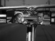"""Gloria Swanson + William Holden = Norma Desmond + Joe Gillis in one of the best films of all time - """"Sunset Boulevard"""" (1950)"""