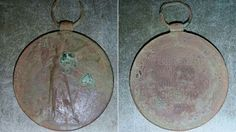 World war II medal found by treasure hunting metal detectorist in England