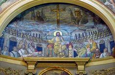 Церковь Санта-Пуденциана,самая древняя церковь Рима,Рим,паломничество в Риме.