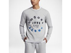 "Converse Essentials ""Love"" Men's Crew"