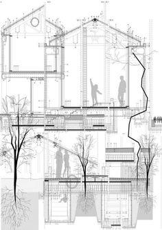 constructive sections by Jose Antonio Costela1- Domestic...