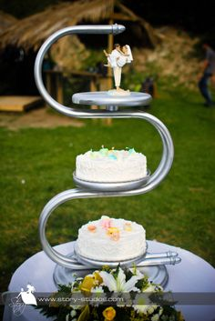 #Zante Wedding Cakes by The Bridal Consultant
