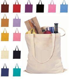 a64f081a9920 Economical 100% Cotton Reusable Wholesale Tote Bags TOB293 Reusable Tote  Bags