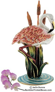 Trinket Box: Flamingo