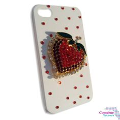 Valentine's Day #Style Inspiration New Red 3D #Love Heart Apple Design & Diamante I phone 4/4s Crystal Cover/ Mobile Phone Case Shop @ http://www.completethelookz.co.uk/fashion-accessories/phone-cases?page=2