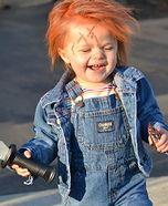 Chucky Doll DIY Costume for Babies this could seriously be Wyatt haha creepy haha