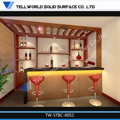 Bar Counter Design | Mini Bar Design Picture with a Simple Model ...