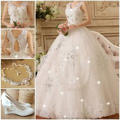 Fashion wedding dress perfects for you!