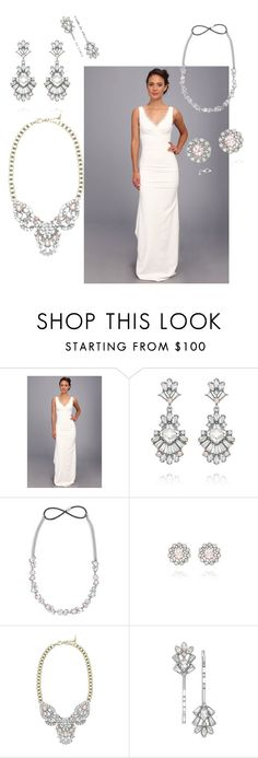 """""""Bridal Bling"""" by eryn-shimizu on Polyvore featuring Nicole Miller and Chloe + Isabel"""