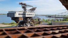 Lost Places der Industriekultur - Ferropolis - Burgdame Himmelsscheibe Von Nebra, Metal Festival, Open Air, Oasis, Lost, House Styles, Places, Home Decor, Campsite