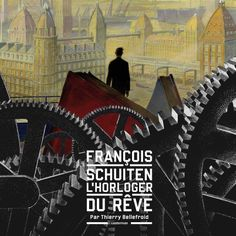 A new book about François Schuiten. See http://www.altaplana.be/albums/l_horloger_du_reve for more information.