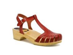 Forget Fluevog.... these are amazing.  Swedish Hasbeens - Sweet Sandal