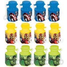 Avengers Mini Bubbles 12ct - Visit to grab an amazing super hero shirt now on sale!