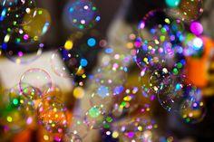 bubbles + bokeh