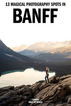 13 of the best photography spots in Banff that will blow you away! We'll show you stunning lakes, incredible mountain views and hidden gems to escape the crowds. Our guide will give you the locations, when to go and all you need to know about the most Instagrammable places in Banff. #Banff #Canada #Instagram Banff Photography, Magical Photography, Travel Photography, Banff National Park, National Parks, Alberta Travel, Banff Canada, Canadian Travel, Travel Guides