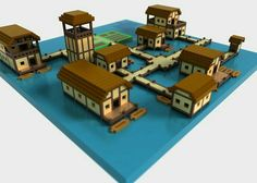 I know dis is Lego but I could do dis in minecraft Minecraft Building Guide, Minecraft Plans, Minecraft City, Amazing Minecraft, Minecraft Survival, Minecraft Tutorial, Minecraft Blueprints, Minecraft Water House, Minecraft House Designs