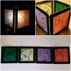 Fanalets de reis.  Candle craft. Light.  Farolillos