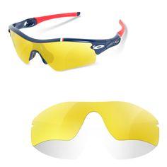 Pantalla compatible con las gafas de sol deportivas Oakley Radarlock .  Lentes customizadas. Polarizados filtro 86fc362e908