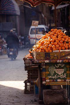 Cairo street by Elena Moiseeva