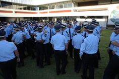 Induction ceremony sees 71 new recruits and 3 new police dogs sworn in to Service - Queensland Police News Police News, Training Programs, Foundation, Community, Communion