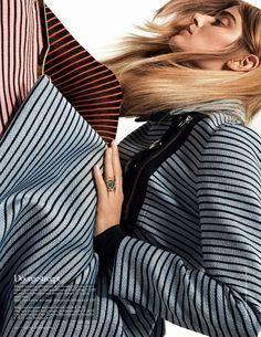 kori richardson model4 Kori Richardson Dons Fall Trends for Vogue Netherlands by Meinke Klein