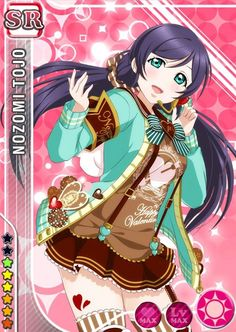 Love Live! Dominates the Top 10 Anime Characters to Get Give Valentine's Day Chocolate Poll haruhichan.com Love Live Nozomi Toujou
