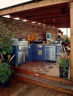 Open Air Kitchen Designs