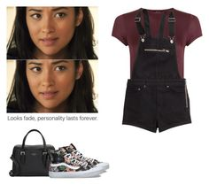 Emily Fields - pll / pretty little liars by shadyannon on Polyvore featuring polyvore fashion style New Look H&M Vans Kate Spade clothing