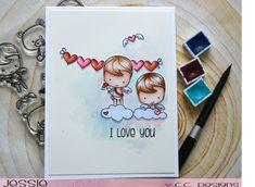 Project: Valentine Cherubs Card