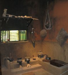 Traditional Kitchen of Indian houses in the past. Some modern houses do incorporate these as a second kitchen.