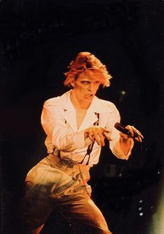 David Bowie in his Diamond Dogs Tour David Bowie Diamond Dogs, The Thin White Duke, Goblin King, Halloween Jack, Ziggy Stardust, Rock Legends, David Jones, Glam Rock, My Favorite Music
