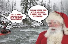 Take action! Protect pure water, native salmon & steelhead, and wild lands