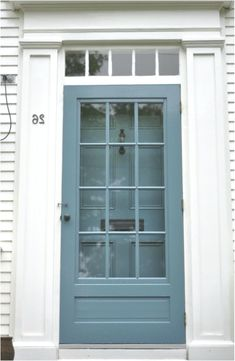 This looks like my storm door. Like what they've done with the hardware and matc. Paint Matching, Main Door, Improve Yourself, Hardware, Doors, Home Decor, Decoration Home, Room Decor, Mudroom
