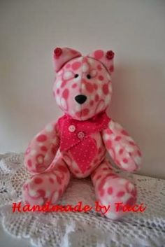 Handmade by Taci: Teddy Rosa