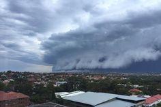 Storm approaches in Randwick, Sydney - November 2015.