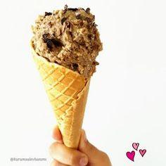 şekersiz dondurma