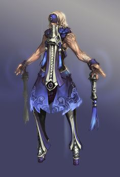 Character Design - Characters & Art - Blade & Soul  I like the costume