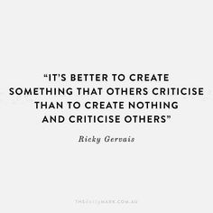 Whatever you create is special. However, despite this fact, there will still be some harsh critics. Nonetheless, you are a creator, and it's worth the personal investment. Some people make no investment at all in anything!