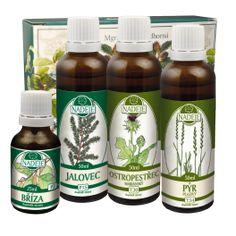 Doplněk z bylin pro pročištění těla