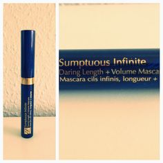 Make-up and Fashion Obsession: Review: Estee Lauder Mascara 'Sumptuous Infinite'