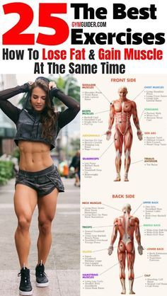 Pin On Lose Fat Gain Muscle