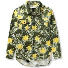 Indie Designs Off White Inspired Floral Printed Cotton Canvas Shirt