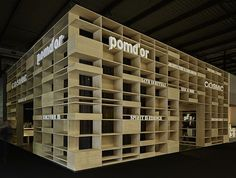 Shelving inspiration at Cosmic Stand - Salone del Mobile, Milano 2014