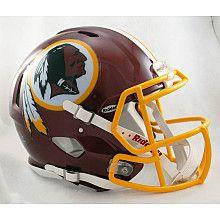 Riddell Washington Redskins Revolution Speed Helmets -