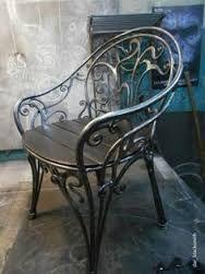 Resultado de imagem para cadeira ferro trabalhado