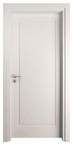 Doug says this one is not too bad Interior Door Colors, Interior Door Trim, White Interior Doors, Interior Door Styles, Door Design Interior, White Doors, Indoor Doors, Flush Doors, Inside Doors