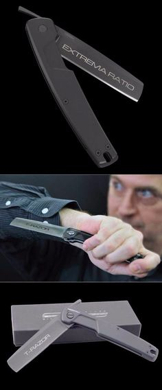 Extrema Ratio T Razor Black Folding Pocket Knife Blade @thistookmymoney