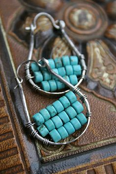 abacus earings ...could be a great looking set with added (lol) pendant